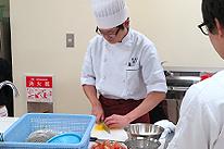 調理実習のイメージ