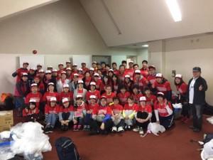 仙台マラソン大会救護ボランティア