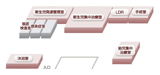 総合周産期母子医療センターマップ